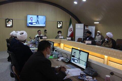 تصاویری از چهارمین هم اندیشی مسئولین امور موقوفات و منابع پایدار استانی حوزه در مجتمع مفتاح  مشهد مقدس