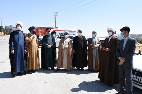 تصاویر/ استقبال از آیت الله اعرافی در یاسوج