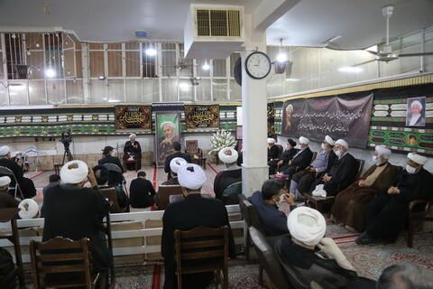 تصاویر / مراسم هفتمین روز درگذشت مرحوم آیت الله یوسف صانعی