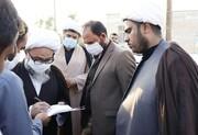 بازدید عضو مجلس خبرگان رهبری از روستاهای محروم آبادان+عکس