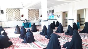 تصاویر / مراسم آغاز تحصیل طلاب جدیدالورود حوزه علمیه خواهران بناب