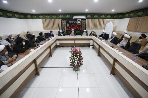 تصاویر/ نشست اساتید حوزه کهگیلویه و بویراحمد با آیت الله اعرافی