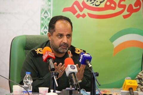 نشست خبری چهلمین سالگرد دفاع مقدس استان یزد