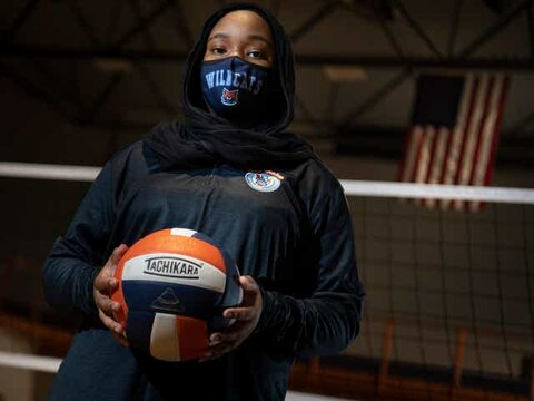 Muslim teen disqualified from volleyball match because of her hijab