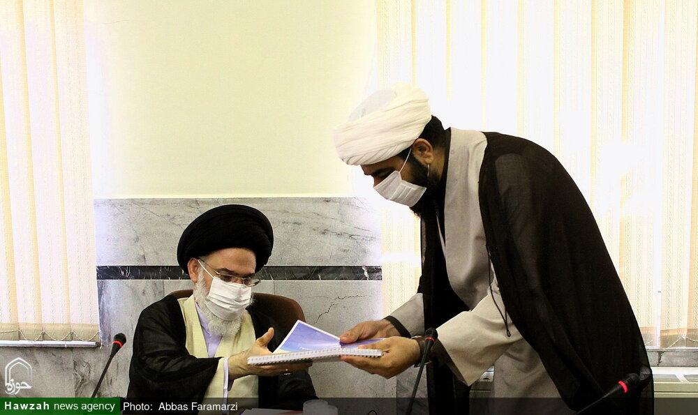 فیلم | آیت الله حسینی بوشهری خطاب به رسانه حوزه: کادرسازی رسانهای بکنید