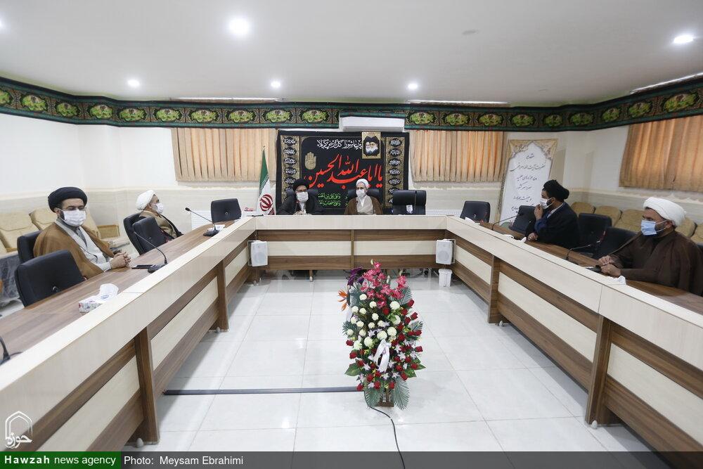 تصاویر/ جلسه شورای نهادهای حوزوی کهگیلویه و بویراحمد با حضور آیت الله اعرافی