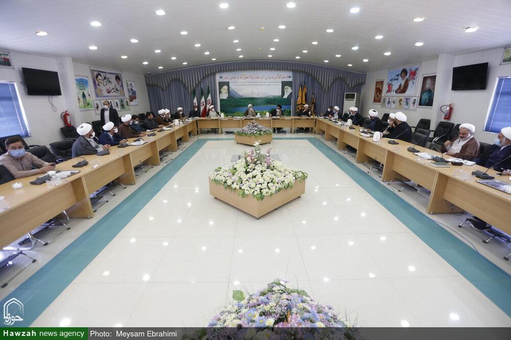 تصاویر/ جمعبندی جلسه شورای حوزههای علمیه استان کهگیلویه و بویراحمد