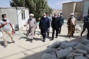 استاندار کرمانشاه از مدرسه علمیه امام خمینی(ره) سنقر و کلیایی بازدید کرد + عکس