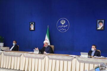 رئیس جمهور: ایران قاطعانه پاسخ قلدری آمریکا را می دهد/ پیام برجامی ایران به ۱+۴