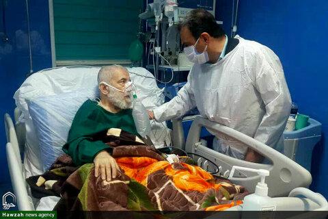 بستری شدن آیت الله شفیعی در بیمارستان