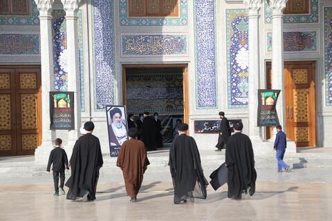 تصاویر / مراسم تشییع پیکر آیت الله سید هاشم هاشمی گلپایگانی