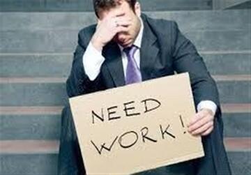 نمودار بیکاری آمریکایی ها بالاتر رفت