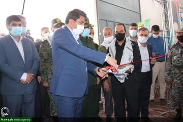 افتتاح نمایشگاه دستاوردهای دفاع مقدس در یزد + تصاویر