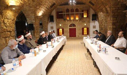 اسماعیل هنیه و احزاب لبنانی