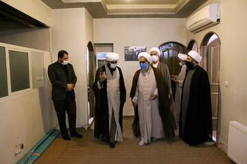 تصاویر/ بازدید رئیس و معاونان بسیج اساتید و نخبگان حوزه علمیه قم از رسانه رسمی حوزه