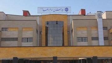 آغاز پذیرش بیماران مبتلا به کرونا در بیمارستان امام رضا(ع) قم