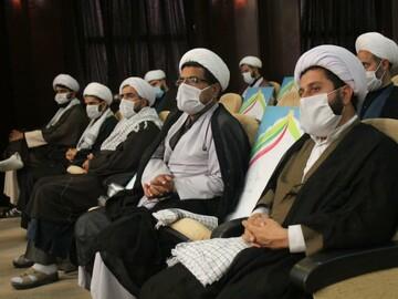 تصاویر | همایش گرامیداشت هفته دفاع مقدس به همت حوزه علمیه کردستان