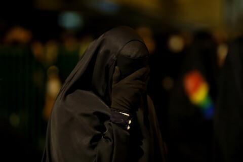 حال و هوای حرم کریمه اهل بیت(ع) در شب شهادت حضرت رقیه(س)