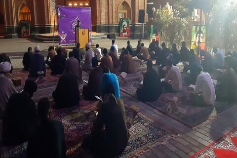 تصاویر/ محفل انس با قرآن کریم در مدرسه علمیه امام خمینی (ره) خوی