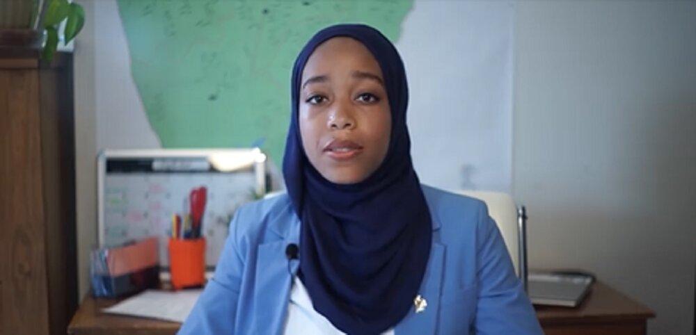 بانوی مسلمان یک قدم به نمایندگی ایالتی در آمریکا نزدیک شد
