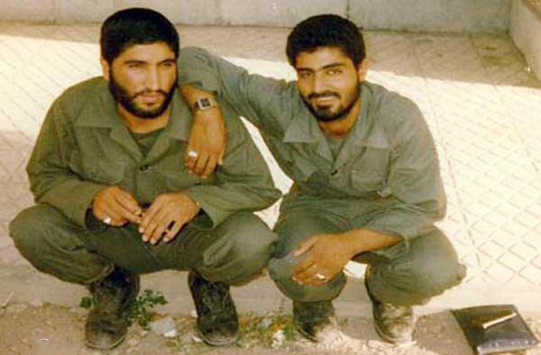 شهید کاظمی و شهید سلیمانی