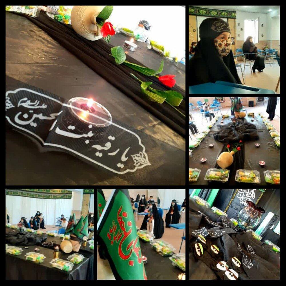فیلم/ عزاداری شهادت حضرت رقیه در مدرسه علمیه الزهرا (س) ارومیه