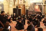 تصاویر/ مراسم عزاداری شب شهادت حضرت رقیه(س) در حرم مطهر آن حضرت با حضور نماینده رهبر انقلاب در سوریه