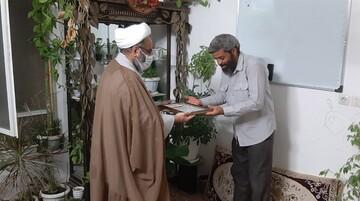 دیدار مدیرعامل شهرک مهدیه با خانواده های شهدا و جانبازان شهرک