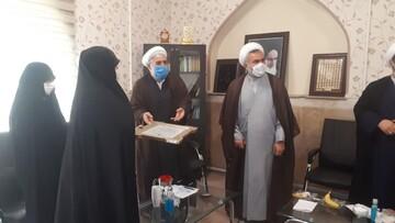 برگزیده یازدهمین دوره جشنواره علامه حلی(ره) تجلیل شد + عکس