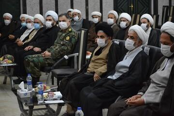 تصاویر/  نشست مسئولین نهادهای نمایندگی رهبری در آذربایجان غربی