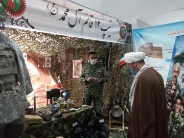 تصاویر/ حضور مدیر حوزه سمنان در نمایشگاه دستاوردهای دفاع مقدس