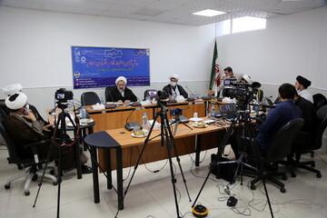 تصاویر/ نشست علمی مجازی روش شناسی استنباط نظام اقتصادی اسلام