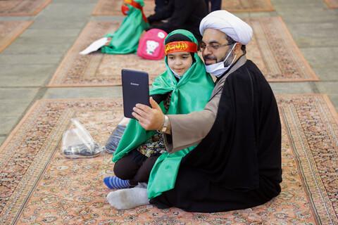 سوگواره ریحانه الحسین(ع) در حرم بانوی کرامت