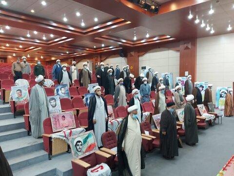 تصویر/ همایش تجلیل از رزمندگان و ایثارگران روحانی استان هرمزگان