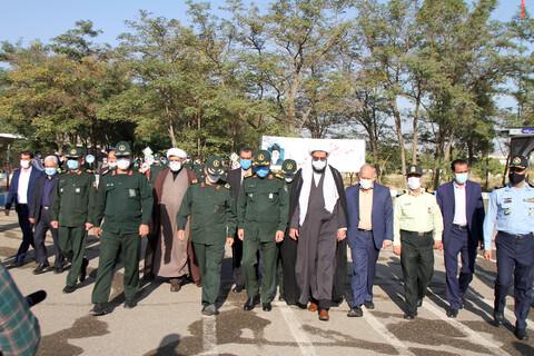 تصاویر/  صبحگاه مشترک یگانهای نظامی و انتظامی مستقر در استان همدان