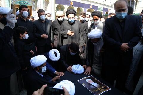 تصاویر / مراسم تشییع پیکر آیت الله ممدوحی