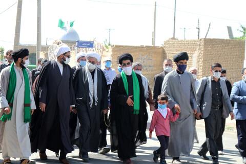 تصاویر / تودیع و معارفه امام جمعه جورقان