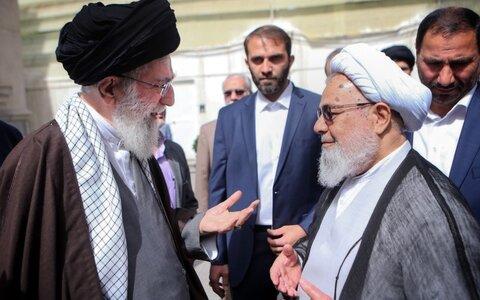الإمام الخامنئي والشيخ حسن ممدوحي