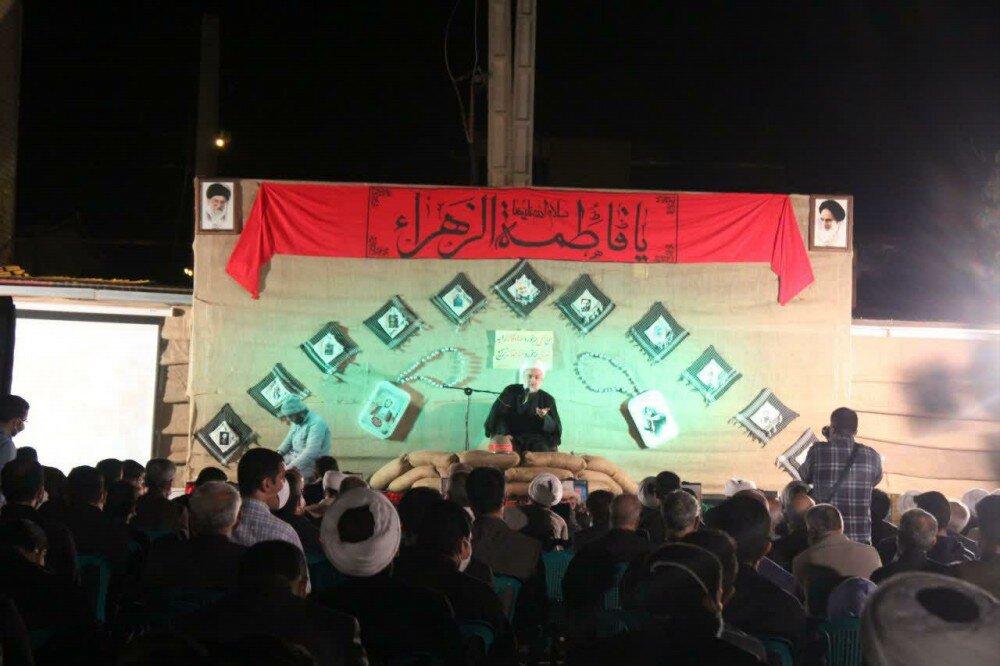 تصاویر| یادواره شهدای شهرستان قروه در مدرسه علمیه امام صادق (ع)