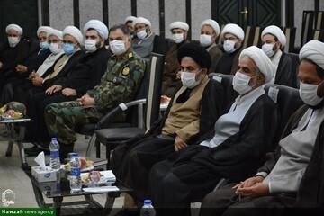 بالصور/ اجتماع مسؤولي ممثليات الإمام الخامنئي في محافظة أذربيجان الغربية شمالي غرب إيران