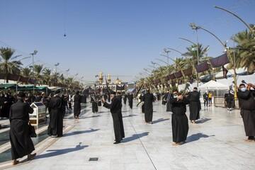 تصاویر/ عزاداری شهادت امام حسن مجتبی (علیه السلام) در کربلای حسینی
