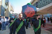 الامانة العامة للعتبة العسكرية المقدسة تقيم مراسيم التشييع الرمزي لنعش الإمام الحسن المجتبى (ع)+الصور