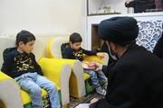 تصاویر/ دیدار نماینده ولی فقیه در استان اردبیل با خانواده شهدای مدافع حرم