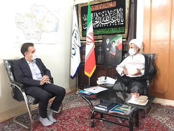 دیدار دکتر قدیر با نماینده مردم قم در مجلس شورای اسلامی