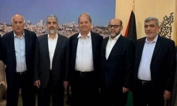 هیئتی از جنبش فتح و حماس برای بررسی پرونده آشتی راهی مصر شد