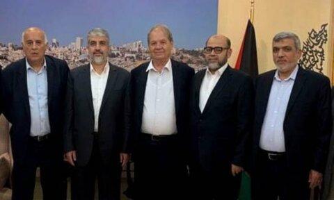هیئتی از جنبش فتح و حماس