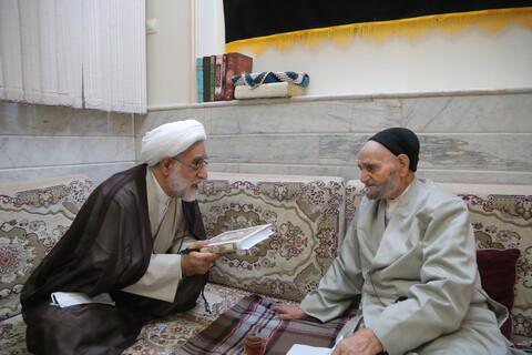 دیدار قائم مقام مدیرحوزه های علمیه با خانواده شهیدان موسوی