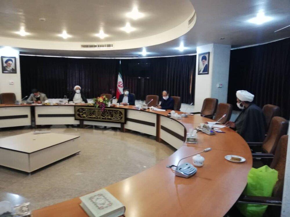 اعضای شورای سیاست گذاری و دبیر ششمین جشنواره ابوذر قم