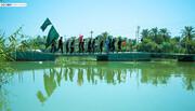 فیلم/ اشتیاق صاحب موکب عراقی برای حضور زائران ایرانی