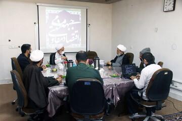 تصاویر/ نشست بررسی الگوی اقتصاد مقاومتی مردم سالاری دینی با حضور حجت الاسلام والمسلمین پناهیان